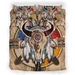 Native Buffalo Printed Bedding Set Bedroom Decor