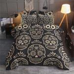Sugar Skull Printed Bedding Set Bedroom Decor