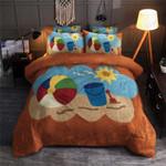 Beach Sun Cool Printed Bedding Set Bedroom Decor