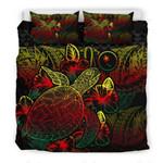 Chuukreggae Color Printed Bedding Set Bedroom Decor