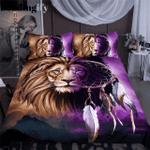 Lion Dreamcatcher Printed Bedding Set Bedroom Decor