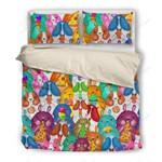 Colorful Hamster Eating Printed Bedding Set Bedroom Decor
