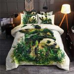 Panda Bamboo Forest Printed Bedding Set Bedroom Decor