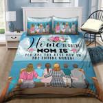 Mom Family Printed Bedding Set Bedroom Decor