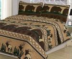 Bear Mountain Printed Bedding Set Bedroom Decor