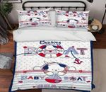 Cartoon Bear Printed Bedding Set Bedroom Decor