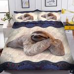 Sloth Mandala Printed Bedding Set Bedroom Decor