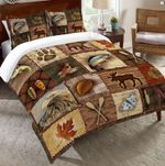 Lodge Icons Printed Bedding Set Bedroom Decor