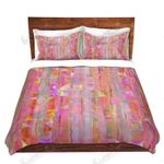 Peeking Colorful Printed Bedding Set Bedroom Decor
