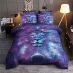 Lion Galaxy Printed Bedding Set Bedroom Decor