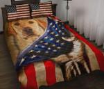 Labrador Flag Printed Bedding Set Bedroom Decor