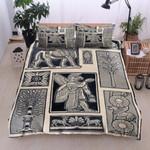 Egypt Vintage Printed Bedding Set Bedroom Decor