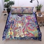Wizard Cat Printed Bedding Set Bedroom Decor