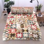 Flower Schnibbles Printed Bedding Set Bedroom Decor