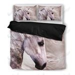 Horse Vintage Printed Bedding Set Bedroom Decor