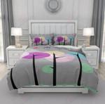Mid Century Printed Bedding Set Bedroom Decor