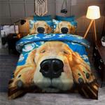 Sleepy Labrador Dog Printed Bedding Set Bedroom Decor