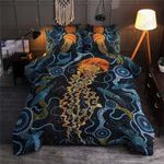 Jellyfish Ocean Printed Bedding Set Bedroom Decor