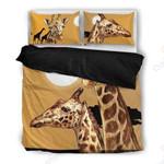 Giraffe Themed Printed Bedding Set Bedroom Decor