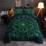 Blue Mandala Printed Bedding Set Bedroom Decor