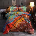 Dragonfly Colors Printed Bedding Set Bedroom Decor
