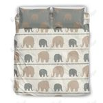 Elephant Cute Printed Bedding Set Bedroom Decor