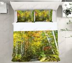 Forest Path Printed Bedding Set Bedroom Decor