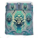 Viking Deer Printed Bedding Set Bedroom Decor