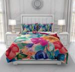 Kitsch Floral Printed Bedding Set Bedroom Decor