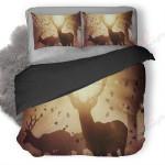 Hunter Deer Season Printed Bedding Set Bedroom Decor