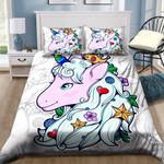 Beautiful Unicorn Girl Printed Bedding Set Bedroom Decor