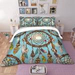 Feather Dreamcatcher Printed Bedding Set Bedroom Decor