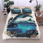 Dolphin Sea Printed Bedding Set Bedroom Decor