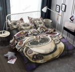 Cup Of Coffee Printed Bedding Set Bedroom Decor