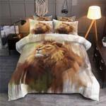 Lion Face Printed Bedding Set Bedroom Decor