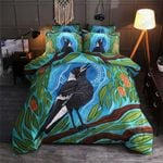 Crows In Forest Printed Bedding Set Bedroom Decor