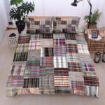 Colorful Patchwork Printed Bedding Set Bedroom Decor