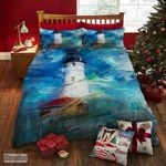 Sea Lighthouse  Printed Bedding Set Bedroom Decor