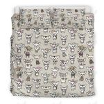 Adorable Chihuahua Pattern Printed Bedding Set Bedroom Decor