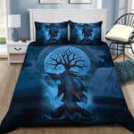 Viking Longboat Printed Bedding Set Bedroom Decor