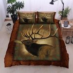 Brown Deer Printed Bedding Set Bedroom Decor