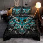 Owls And Keys Printed Bedding Set Bedroom Decor
