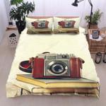 Vintage Photograph Printed Bedding Set Bedroom Decor