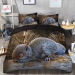 Adorable Squirrel Printed Bedding Set Bedroom Decor