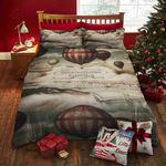 Air Balloon Printed Bedding Set Bedroom Decor