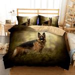 German Sheperd Printed Bedding Set Bedroom Decor