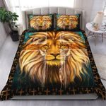 Jesus Lion Head 3D Bedding Set Home Decor