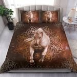 White Horse Running With Flowers Pattern 3D Printed Bedding Set Bedroom Decor