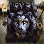 Black Lion Power Supremacy 3D Printed Bedding Set Bedroom Decor