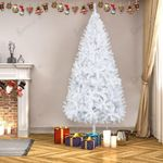 Artificial Christmas Tree With Mental Stand Dunhill White Fir 7Ft 950 Tips For Christmas Holiday